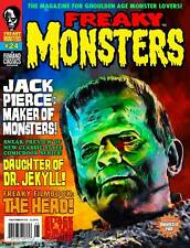 FREAKY MONSTERS MAGAZINE #24: Jack Pierce FRANKENSTEIN Dr. Jekyll CRAB MONSTERS!