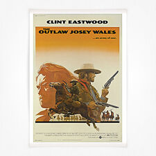 POSTER Film Vintage-a4-CLINT EASTWOOD IL FUORILEGGE Josie Galles