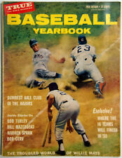 Vintage 1959 True Baseball Yearbook Magazine, Troubled World of Willie Mays