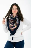 Amazing colourful Russian fashion Slavonic style shawl scarf summer collection-2
