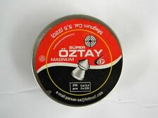 Magnum 250pcs Super Oztay Diabolo Air Gun Pellets 5.5 mm ( 0 . 220 )