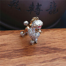 Authentic Juicy Couture Gold Bow Poodle Dog Charm