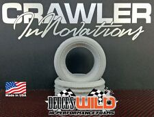"Crawler Innovations Deuce's Wild 1.9 Tires 3.85""-4.19"" Tall Foam Pair CWR-3007"