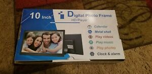 10 inch digital photo frame HD player