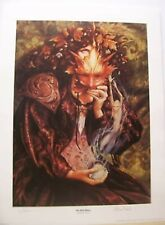 BRIAN FROUD - SET OF 4 - HAND SIGNED + NUMB. PRINTS