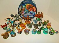 Skylanders Giant Lot Of 28 Figures & Spyros Adventure Carrying Storage Case