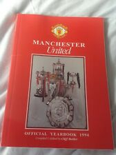 Manchester United Football Club Official Yearbook 1994 . Manu . Collectable