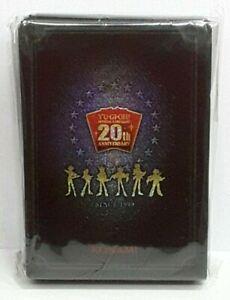 Konami YuGioh 20th ANNIVERSARY DUELIST BOX Limited Sleeves 100Pcs Sealed
