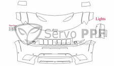 PreCut Suntek PPF-Ultra Clear Bra Film for 17+ Jeep Grand Cherokee SRT Trackhawk