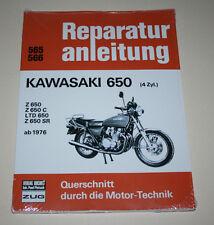Reparaturanleitung Kawasaki Z 650 / LTD 650 / Z 650 SR + C, ab Baujahr 1976