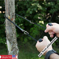 New Camping Hiking Emergency Survival Hand Tool Gear Pocket Chain Saw ChainSaw