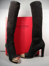 High (3 in. and Up) Suede Medium (B, M) 7 Boots for Women