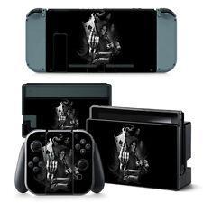 Nintendo Switch Skin Design Foils Aufkleber Schutzfolien Set - Game Over Motiv