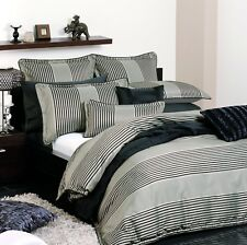 Harvard Bronze | Doona Quilt Cover Set by Logan & Mason | Ultima | Super King