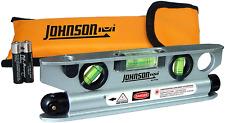 Johnson 40 6164 7 12 Inch Magnetic Torpedo Laser Level With Softsided Padded Ca