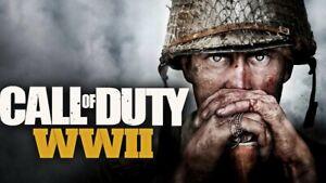 Call of Duty: WWII WW2  PC { Read description }