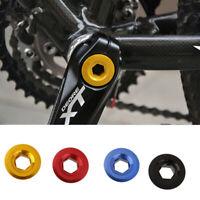 2pcs M15 Titanium Ti Mountain//Road Bike Bicycle Crankset Crank Arm BB Bolt Screw