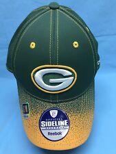 Reebok NFL Greenbay Packers Men's Cap Hat S/M NEW