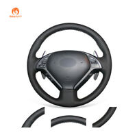 DIY Leather Steering Wheel Cover for Infiniti G G25 G35 G37 QX50 EX EX35 EX37