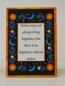 RECOVER GREETING CARD - HAPPINESS & ACTION - ANNIVERSARY