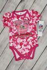 Baltimore Ravens NFL Girl Bodysuit Baby Girl Loves Football Camo 0-3 Months NWT