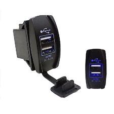 3.1A Dual USB Car Cigarette Lighter Socket Splitter Charger Power Adapter 12-24V