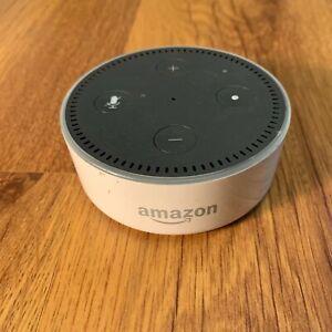 Amazon Echo Dot 2nd Generation Smart Assistant Speaker Alexa White RS03QR