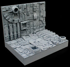6 differten Death Star tiles 1/72 3D printed