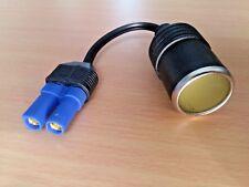 EC5 to 12 V - Car Cigarette Lighter Socket Adapter Cable (70mm Lead)