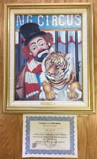 """""""HOLD THAT TIGER"""" RED SKELTON Oil On Canvas Lithograph, Signed, Numbered, COA"""