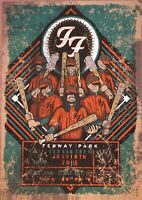 "Reproduction ""Foo Fighters - Fenway Park 2015"",  Poster, Grunge, Home Wall Art"