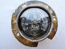 Antique Car FIAT , early '900 oil pressure gauge, working, RARE ! RARE ! RARE !