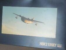 KAWANISHI H8K2 TYPE 2 EMILY + PHOTOETCHED PARTS 1/72 HASEGAWA