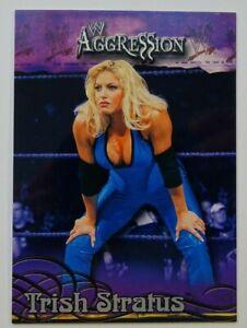 2003 Trish Stratus WWE WWF Fleer Aggression # 40 Divas