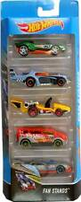 Hot Wheels - 5 Cars Pack 2017 Fan Stands