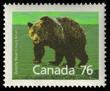 """CANADA 1178 - Grizzly Bear """"1989 Harrison Paper"""" (pa43462)"""