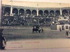 Spanish Bullfighter Postcard — Suerte de Matador