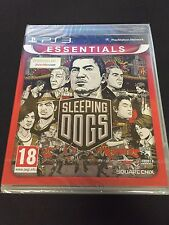 PS3 : sleeping dogs (NEUF SOUS BLISTER)