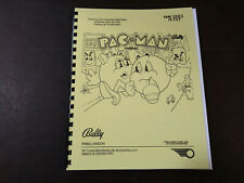 Mr and Mrs Pacman Pinball Manual with Full-Size, Fold-Out Schematics