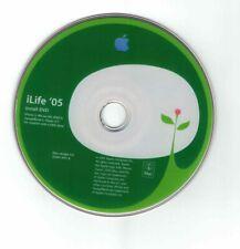 iLife '05 DVD f. Power PC: iMovie HD, iTunes 4.7, iDVD 5, iPhoto 5, GarageBand 2