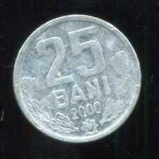 MOLDAVIE 25  bani  2000