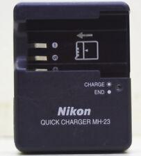 Original Nikon MH-23 Battery Charger for D40 D40x EN-EL9 EL9A Battery