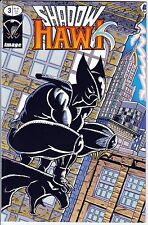 SHADOW HAWK Issue #3 December 1992 Glow-in-the-Dark Cover