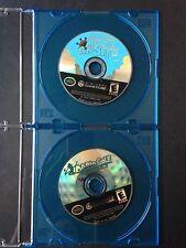 Nintendo GameCube Game Lot Super Mario Sunshine & Mario Golf