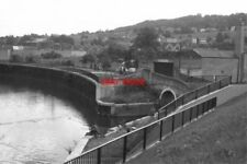 PHOTO  1977 RIVER AVON BATH THE JUNCTION WITH THE KENNET AND AVON CANAL IS SEEN