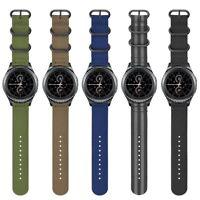 Soft Nylon Watch Band Sport Strap For Samsung Galaxy Watch 42mm SM-R810/SM-R815