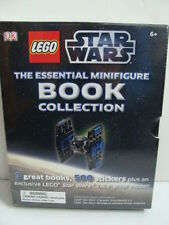 NEW LEGO Star Wars The Essential Minifigure Book Collection Stickers Tie Fighter