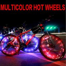 2m Bicycle Led Bike Cycling Rim Light Led Wheel Spoke Light String Lamp White