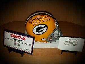 Jerry Kramer Green Bay Packers Signed Autographed NFL Mini Helmet Tristar COA
