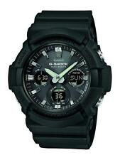 Casio G-Shock Black Mens Gents Watch Quartz Collection GAW-100B Chronograph